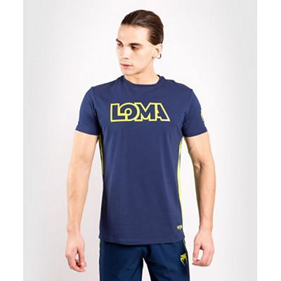 Venum Origins T-shirt Loma Edition Blu-Giallo