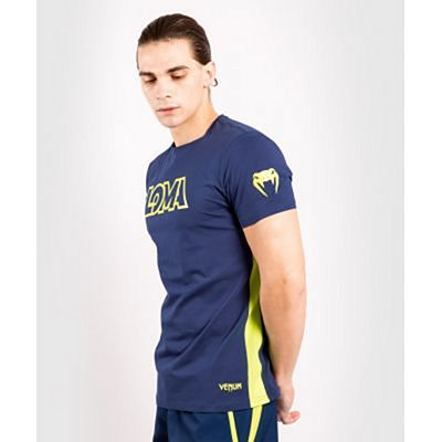 Venum Origins T-shirt Loma Edition Blue-Yellow