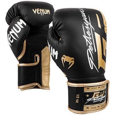 Venum Petrosyan Boxing Gloves Black-Gold