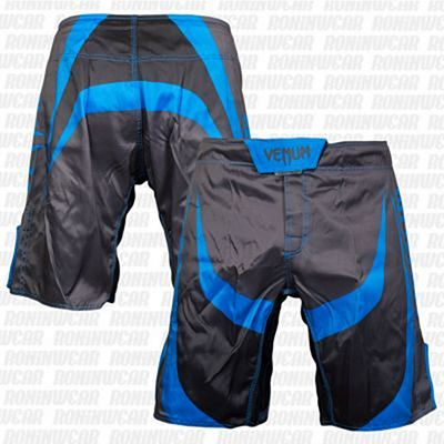 Venum Predator Fightshorts Black-Light Blue