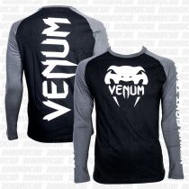 Venum Pro Team 2.0 Long Sleeves T-shirt Fekete-Szürke
