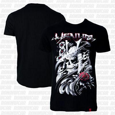 Venum Samurai Skull T-shirt Preto