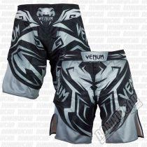 Venum Shadow Hunter Fightshorts Negro-Gris