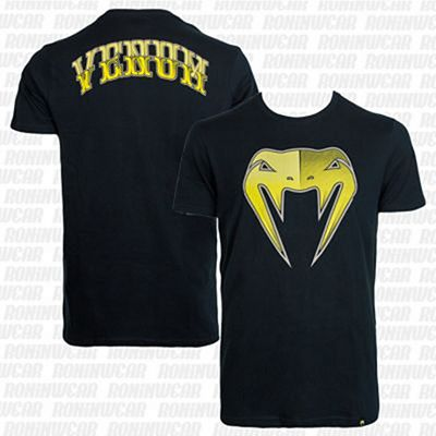 Venum Shadow T-shirt Negro-Amarillo