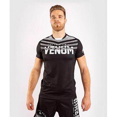 Venum Signature Dry Tech T-shirt Black-White