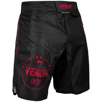 Venum Signature Fightshorts Black-Red