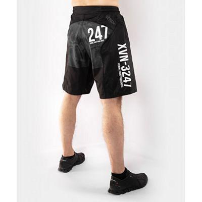 Venum Sky247 Fight Shorts Preto-Cinza