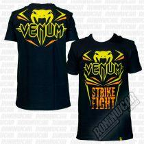 Venum Strike Fight T-shirt Nero
