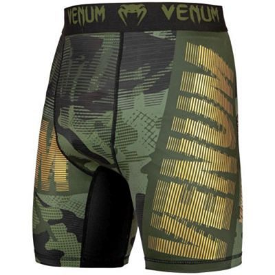 Venum Tactical Compression Shorts Grün-Schwarz