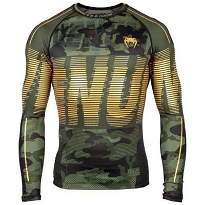 Venum Tactical Rashguard -Long Sleeves Grün-Schwarz
