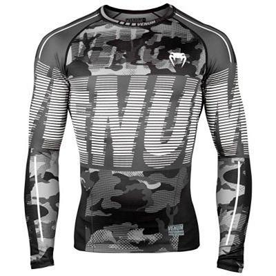 Venum Tactical Rashguard LS Black-White