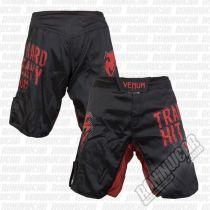 Venum Train Hard Hit Heavy Fight Shorts Black