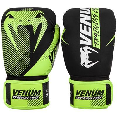 Venum Training Camp 2.0 Boxing Gloves Negro-Amarillo