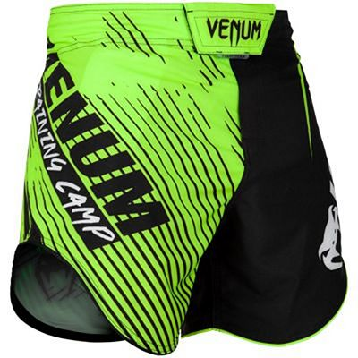 Venum Training Camp 2.0 Fightshorts Preto-Amarelo