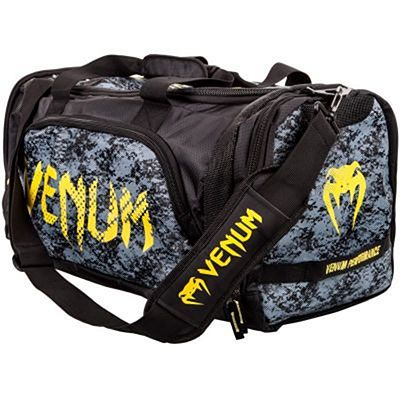 Venum Tramo Sport Bag Black-Yellow