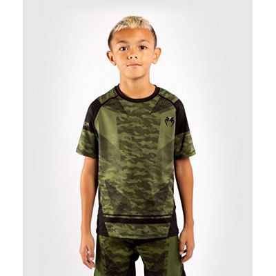 Venum Trooper Kids Dry-Tech T- Shirt Camo