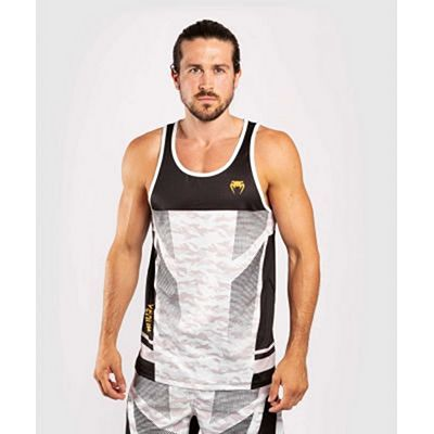 Venum Trooper Tank Top Bianco-Nero