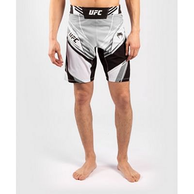 Venum UFC Authentic Fight Night Mens Shorts  Long Fit White
