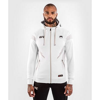 Venum UFC Authentic Fight Night Men's Walkout Hoodie White