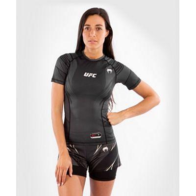 Venum UFC Authentic Fight Night Womens Rashguard Nero-Grigio