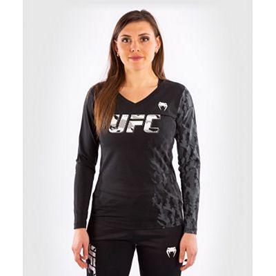 Venum UFC Authentic Fight Week Women Long Sleeve T-shirt Schwarz