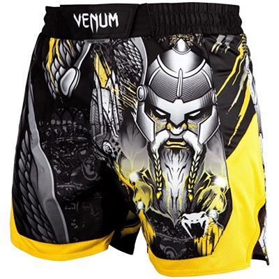 Venum Viking 2.0 Fightshorts Black-Yellow