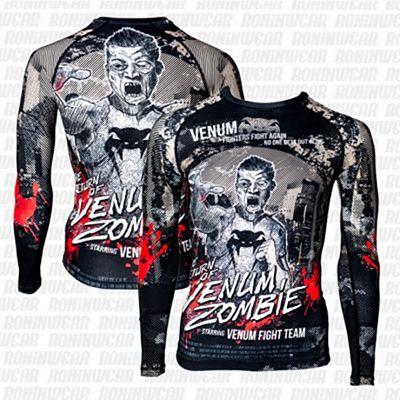 Venum Zombie Return Rashguard Negro-Gris