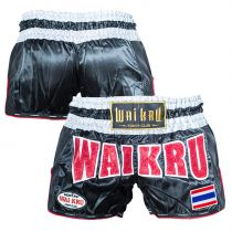 Wai Kru BCS-01 Carbono Shorts Fekete