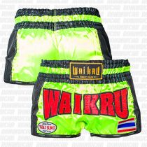 Wai Kru BCS-06 Carbono Shorts Zöld