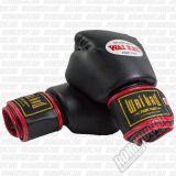 Wai Kru BGSP-01 PU Boxing Gloves Black