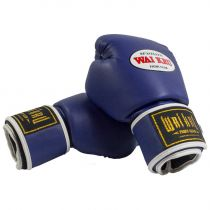 Wai Kru BGSP-04 PU Boxing Gloves Blue
