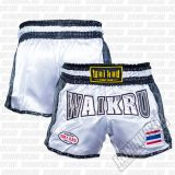 Wai Kru SK-03 Snake Retro Shorts Fehèr