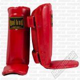 Wai Kru WKTHPU PU Shinguards Rojo