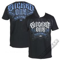 Wicked One Camiseta Punish Fekete