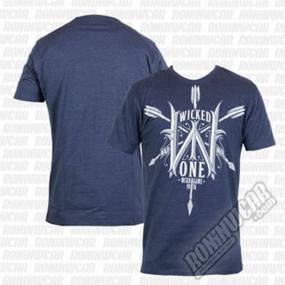 Wicked One Tee Arrow Bleu Azul