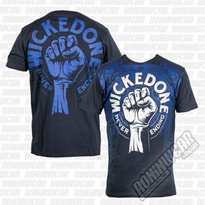 Wicked One Tee Never Ending Azul Marino
