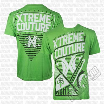 Xtreme Couture Diomedes S/S Tee DK Grün
