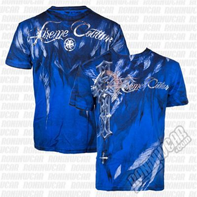 Xtreme Couture Faith Drive S/S Tee Cobalt Blu