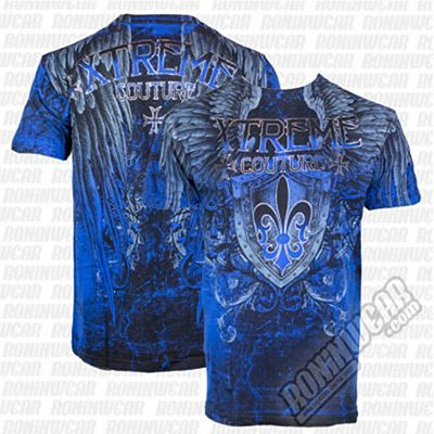 Xtreme Couture Smithsonian S/S Tee Cobalt Azul