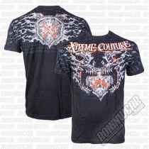 Xtreme Couture Splatter House S/S Tee Negro