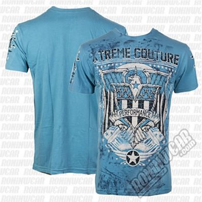 Xtreme Couture Voyager S/S Tee Indian Teal Celeste