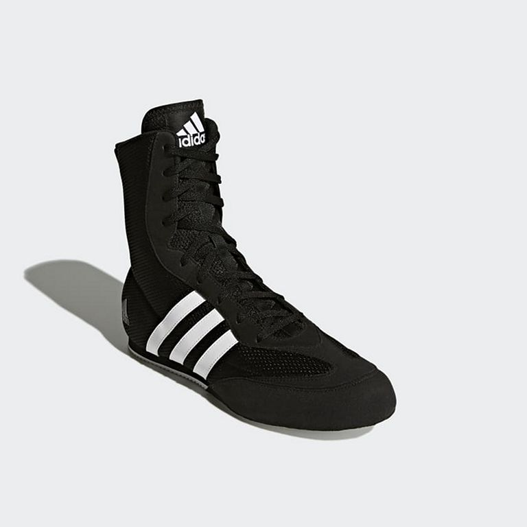 outlet store 19c5b bb77f Adidas Box Hog 2 Boxing Boots Schwarz-Weiß