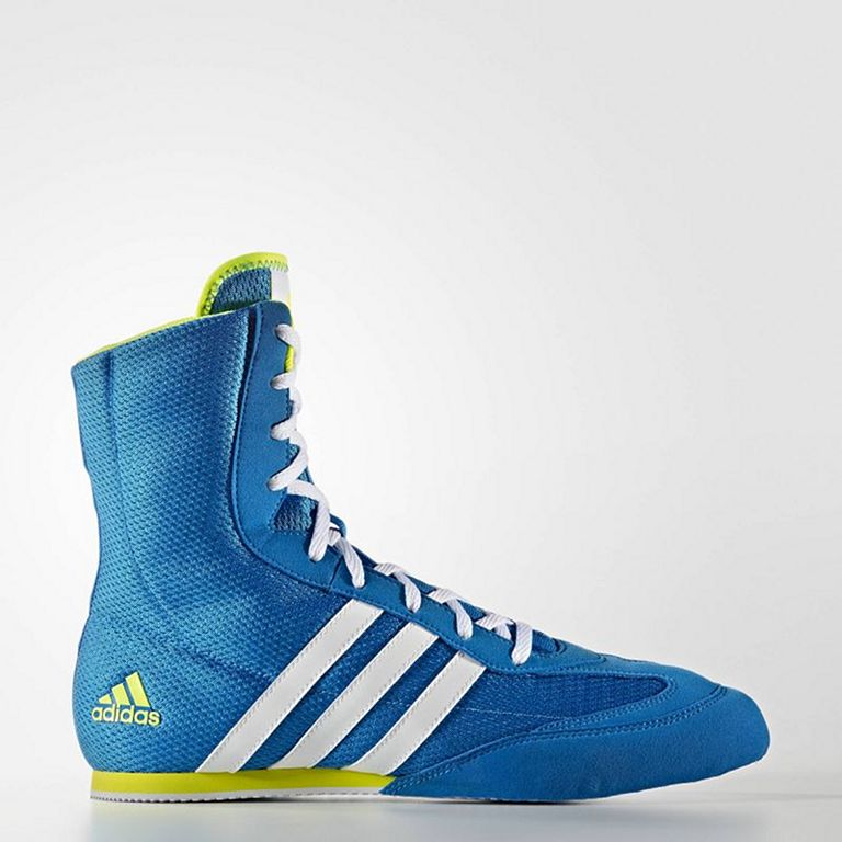 Weiß Blau Box Shoes Hog 2 Adidas Boxing nO8k0PXw