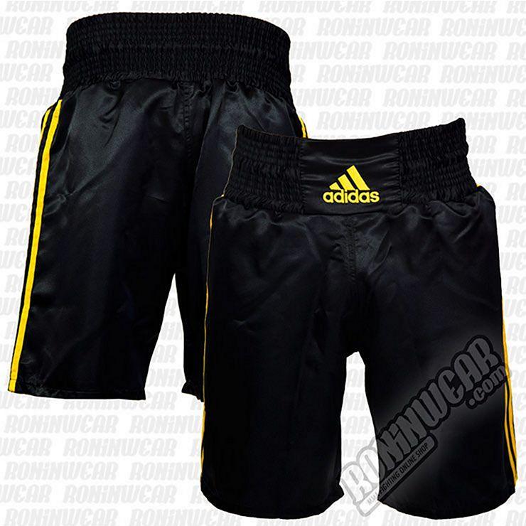 Torpe Levántate Logro  adidas Boxing Trunks Black-Gold