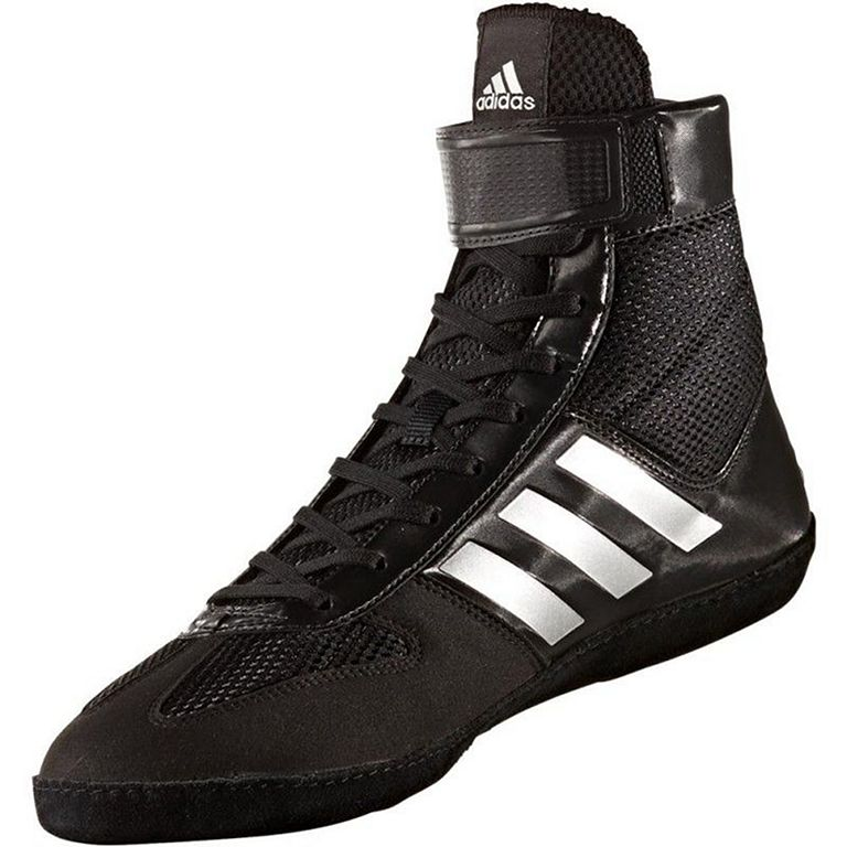 Medicina Forense bosque Excesivo  Adidas Combat Speed 5 Wrestling Shoes Black-Silver