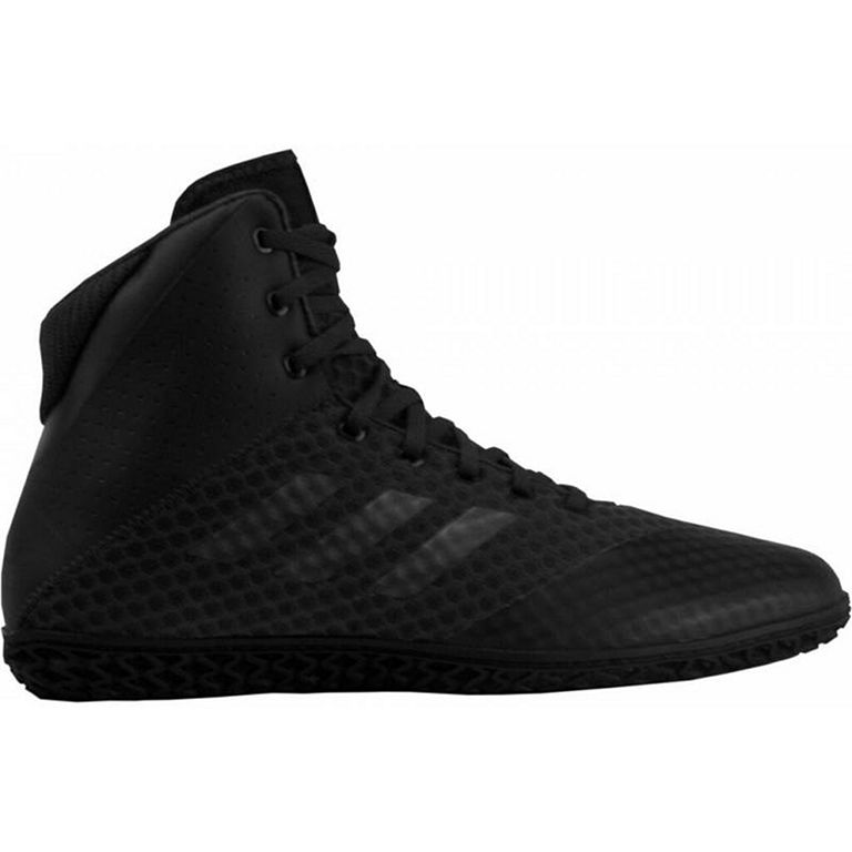 Black Sports Gym Breathable adidas Mens Mat Wizard 4 Wrestling Shoes