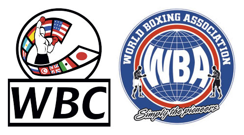 WBC & WBA boxing associations logos