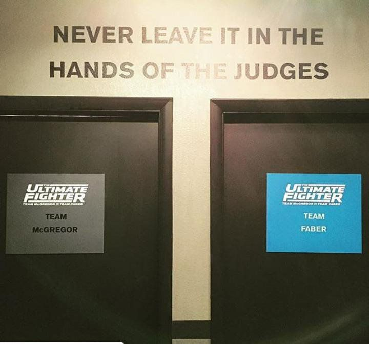 never leave it in the hands of the judges