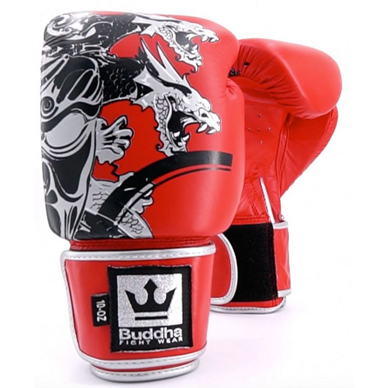 684d790e7 Buddha Amateur Competition Dragon Boxing Gloves Vermelho
