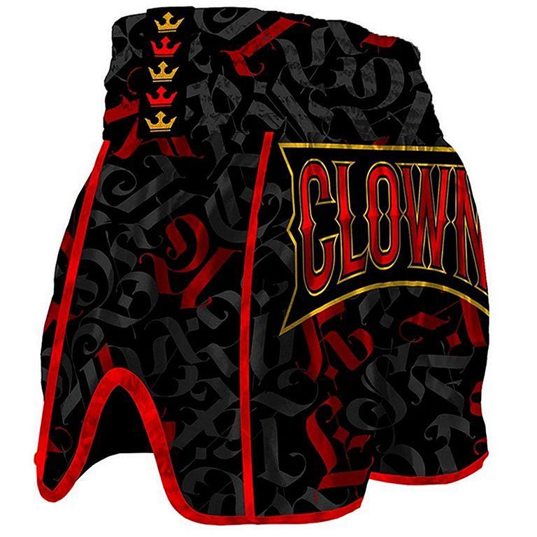 "Muay Thai Shorts /""CROWN Muay Thai/"" Black"